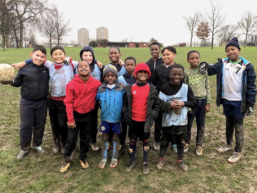 kids group field